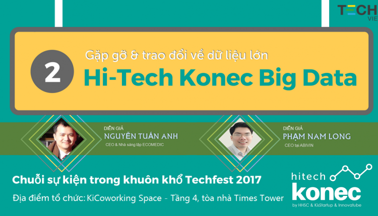 Hi-Tech Konec – Sự kiện kết nối CHUYÊN GIA – DOANH NGHIỆP – STARTUP