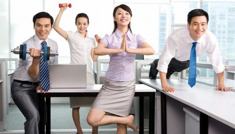 8 bài tập ngay tại nơi làm việc dành riêng cho người bệnh đái tháo đường