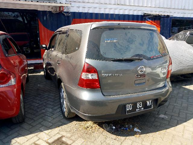 Car Auctions Ny >> Nissan Grand Livina Xv Car Auction Detail Pt Jba Indonesia