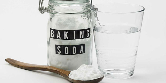 Applying Baking Soda