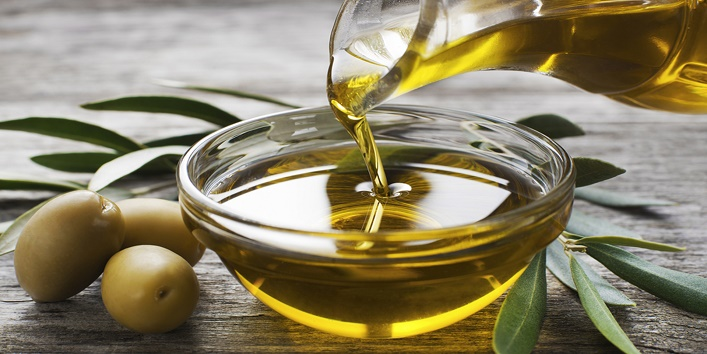 Olive oil and sesame oil