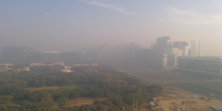 As Delhi Chokes with Dust and Haze