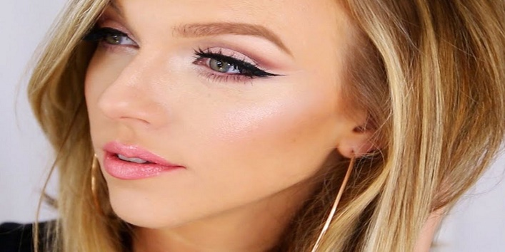 Check makeup in natural light