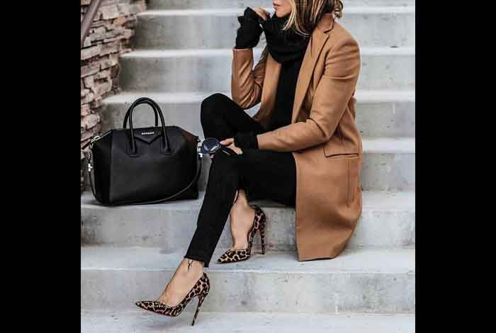 Try Out A Pair of Leopard Print Flats or Heels to Work