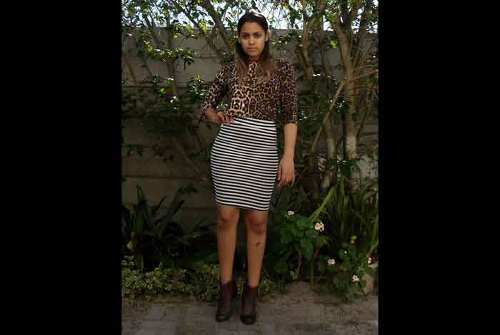 Mix Your Leopard Print with Other Prints