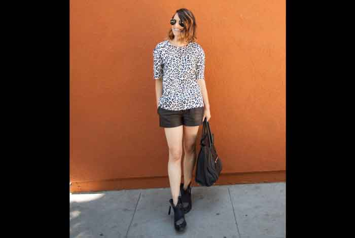 Keep Your Outfit Casual with Slouchy Leopard Print