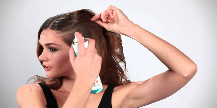 Dry shampoo to add volume to your mane