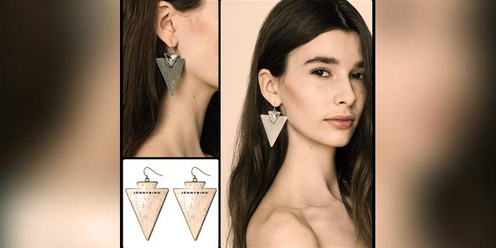Amp Up Your Style With Geometric Earrings