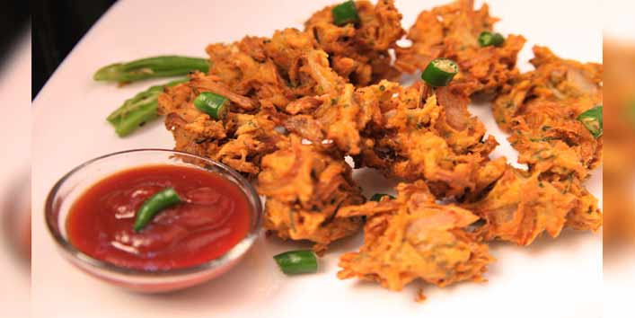 Crispy Pakora and Bhajiya