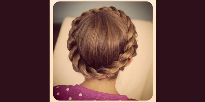 Crown Braided Bun