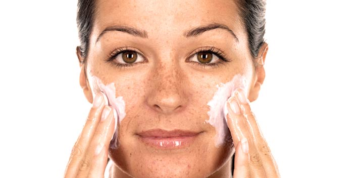 Habits that cause premature wrinkles includes over exfoliating