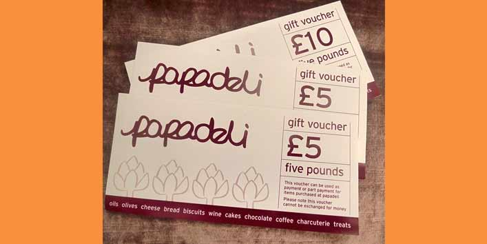 Meal Vouchers for Foodie Siblings