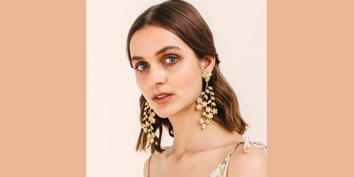 Multi-Layered Chandelier Earrings