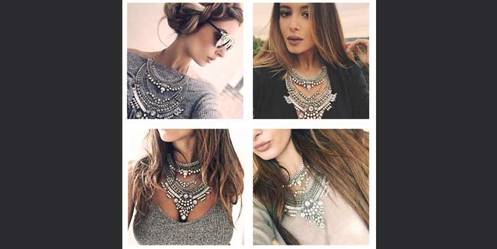 Multi-Layered Statement Necklace