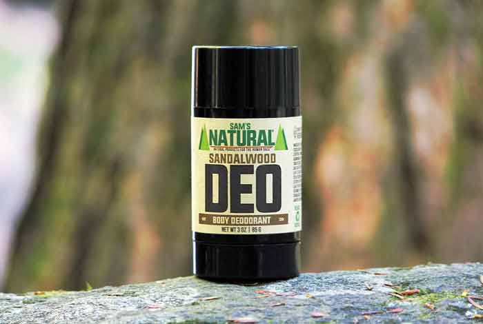 Sandalwood Essential Oil as A Natural body Deodorant