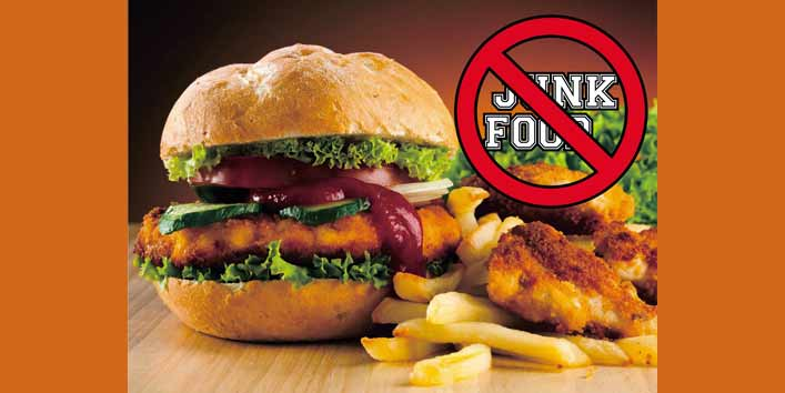 Stay Away from Processed and Junk Food