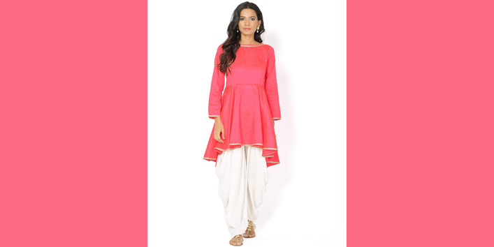 Trending Kurtis designs and Style Include Flared Kurtis Too!