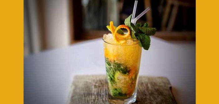 Easy and Simple Orange Mojito Recipe