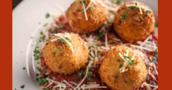 risotto cheese balls recipe