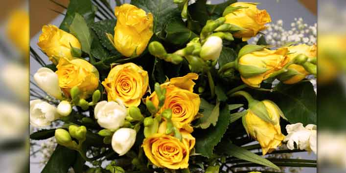 Show Your Strong Bond With Yellow Flowers