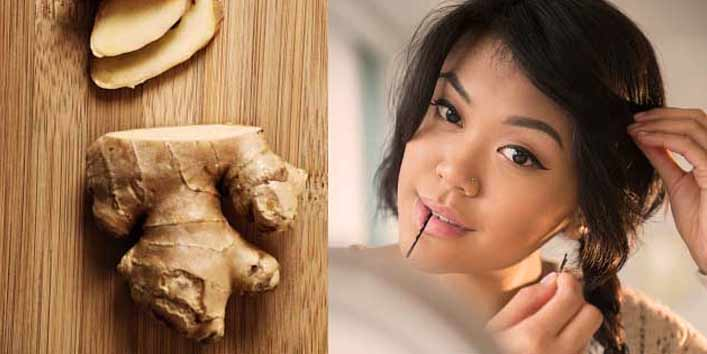Use Ginger for Hair