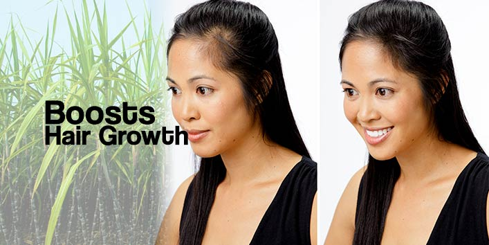 Boosts Hair Growth