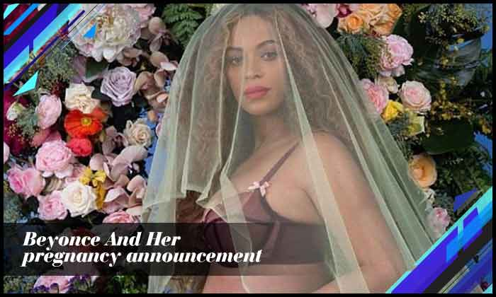 Beyonce And Her Pregnancy Announcement