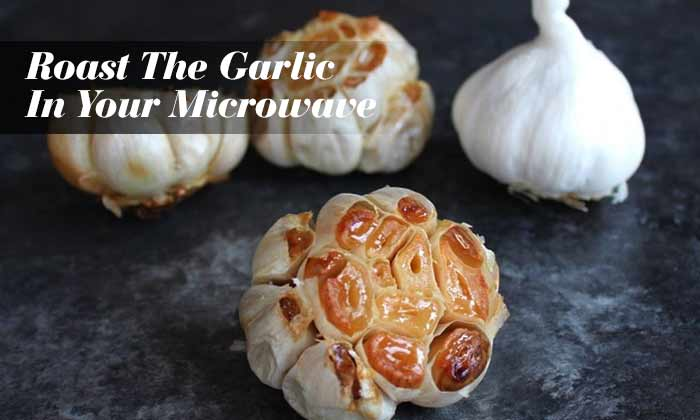 Roast The Garlic In Your Microwave