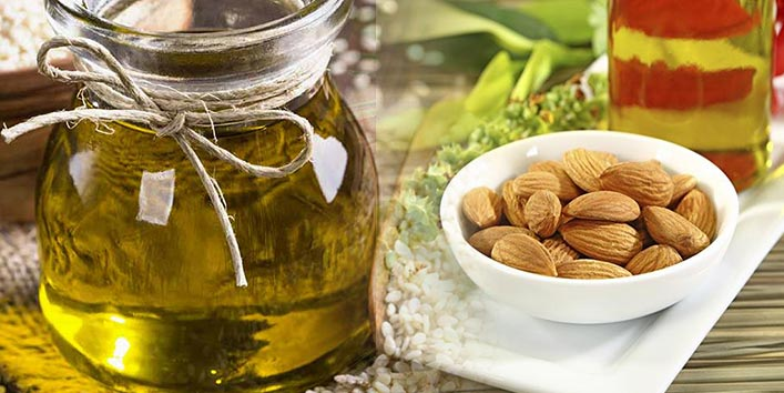 Sesame oil and Almond oil