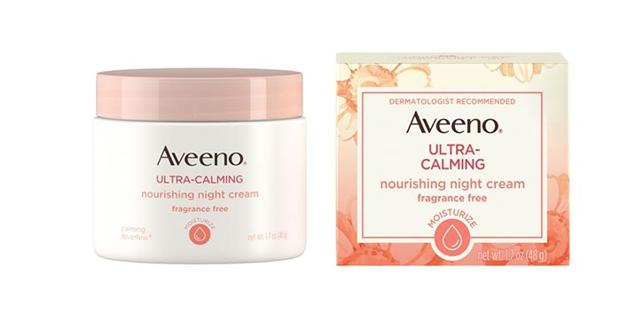 Aveeno Ultra Calming Nourishing Night Cream