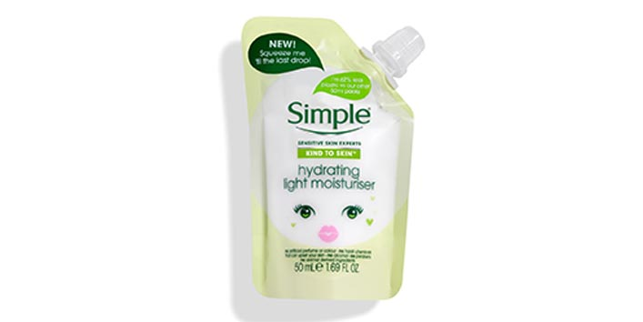 Simple Hydrating Light Moisturizer Pouch