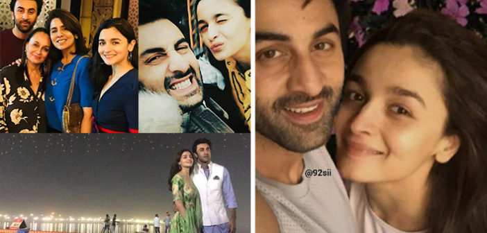 Unseen Pictures of Ranbir Kapoor and Alia Bhatt