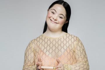 Ellie Goldstein gucci down syndrome model