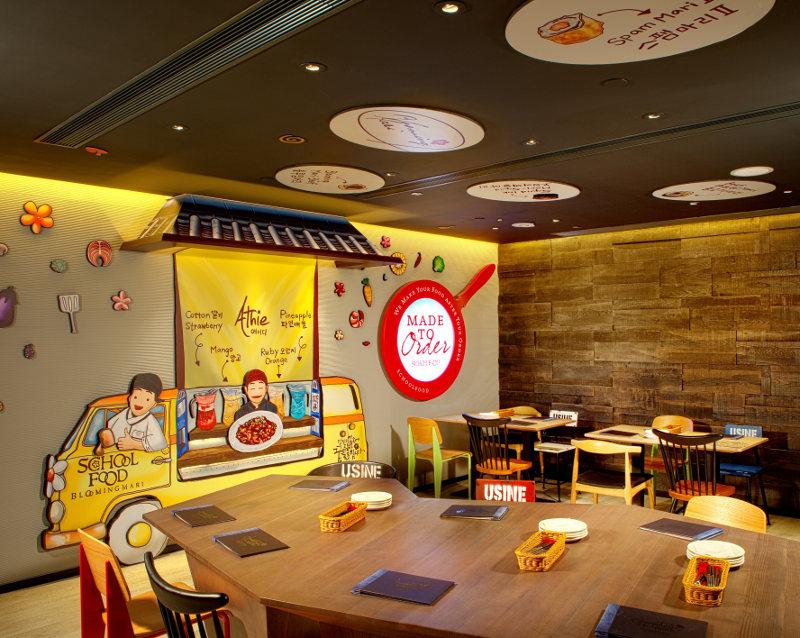 School food hong kong korean mira dining
