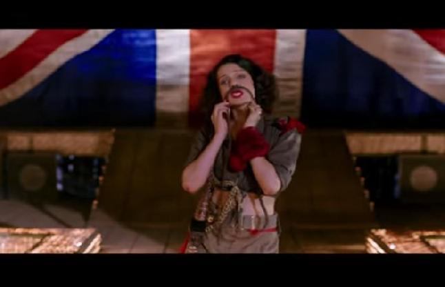 बहुत ही दिलचस्प है फिल्म रंगून का पहला गाना 'ब्लडी हेल', गाने में बिंदास लग रही हैं कंगना