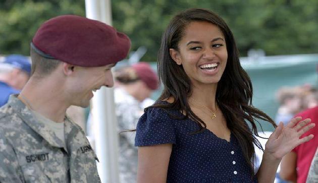 ओबामा की बेटी का पीछा करने वाला गिरफ्तार