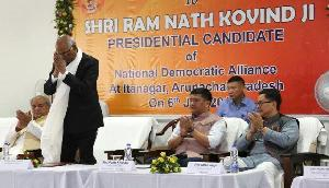 अरुणाचल प्रदेश की पीपुल्स पार्टी भी करेगी रामनाथ कोविंद का समर्थन