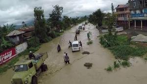 बाढ़ के कारण मणिपुर को हुआ 131 करोड़ रुपए का नुकसान