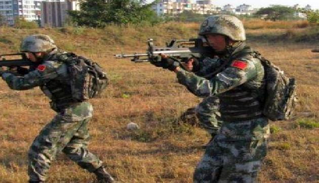 चीनी आर्मी ने अरुणाचल की सीमा के पास 11 घंटे लाइव फायर ड्रिल की