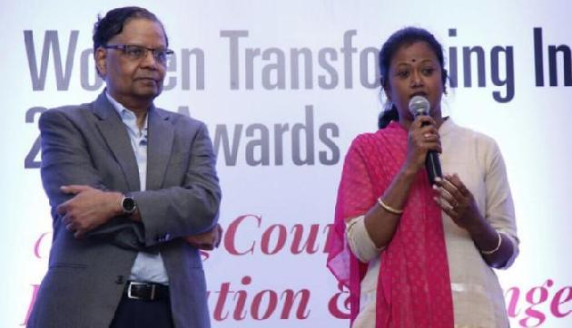 शिमा मोडक को मिला वूमेन ट्रांसफॉर्मिंग इंडिया पुरस्कार