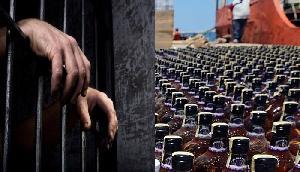 भारी मात्रा में अरुणाचल मेड Wine जब्त, दो गिरफ्तार