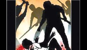 जमीन विवाद को लेकर गर्भवती महिला तथा उसके पति पर हमला