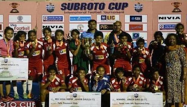 बंगलादेश ने पूर्वोत्तर की टीम को हराकर जीता सुब्रतो कप