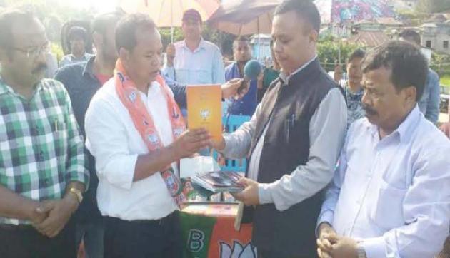 PWD के पूर्व सहायक अभियंता 500 समर्थकों संग भाजपा में शामिल