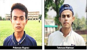 अंडर-19 कम्बाइंड टीम में नागालैंड के दो क्रिकेटरों का चयन