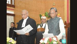 गंगा प्रसाद ने मेघालय के 16 वें राज्यपाल के रूप में शपथ