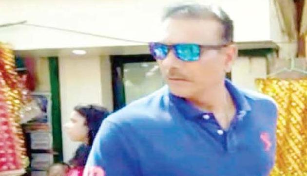 रवि शास्त्री ने पहुंचे कामाख्या धाम, मां से की सीरीज विजयी की कामना