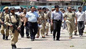 भले ही भारत मैच हारा, पुलिस प्रशासन ने जीता दर्शकों का दिल