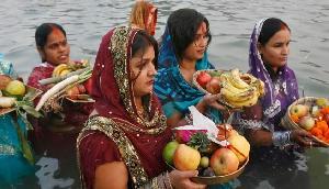सिक्किम में दुल्हन की तरह सजे घाट, शुरु हुई छठ पूजा