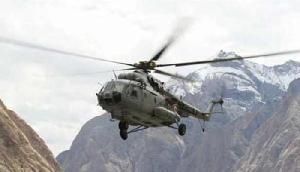 वायरल हुआ अरुणाचल में क्रैश हुए वायु सेना का हेलिकॉप्टर का विडियो
